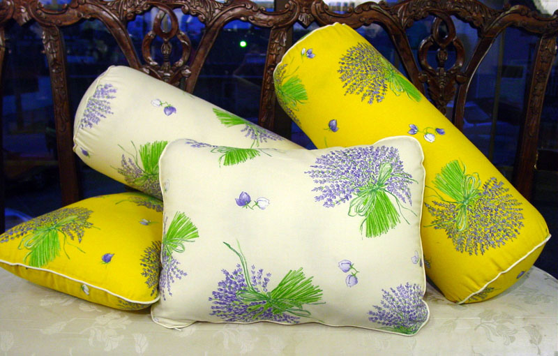 Lavender Pillows made with organic lavender