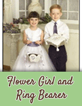 Lavender Wedding - Flower Girl Baskets and Ring Bearer Pillows