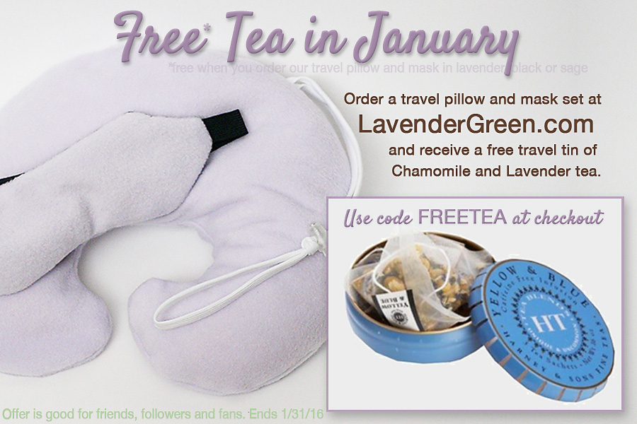Free tea in January with Purchase